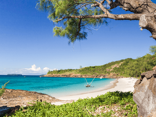 Ostrov Tsarabanjina pri Madagaskare